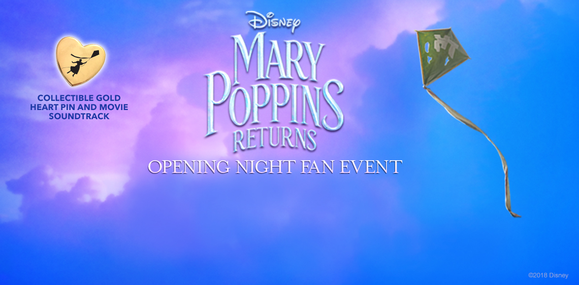 Mary Poppins Returns Opening Night Fan Event